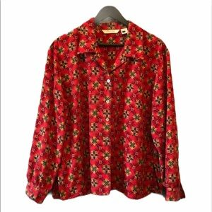 TanJay Women's Floral Blouse